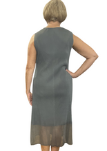 sleek pleated fabric dress by vanite couture