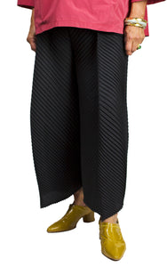 pleated wide leg pants from mc oasis
