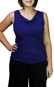 sleevless ruched top from petit pois