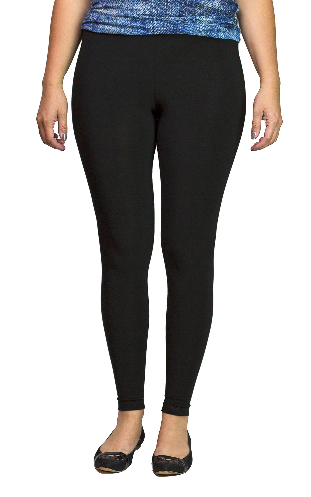 basic solid leggings from sun kim