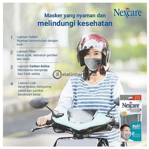 3M Masker Nexcare Carbon Mask Mp-20 Office Stationery