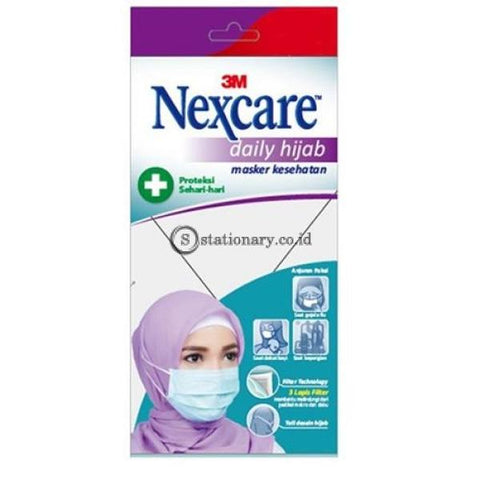3M Masker Nexcare Daily Hijab Md-10 Office Stationery