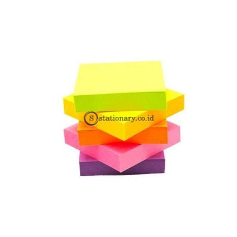 3M Post It Cube 2051-2Anl 2X2 Inch Neon Colour Office Stationery