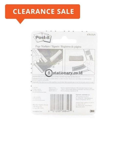 3M Post It Page Marker 670-5An Office Stationery