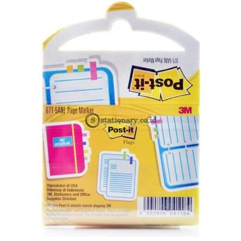 3M Post It Page Marker 671-5Anl Office Stationery