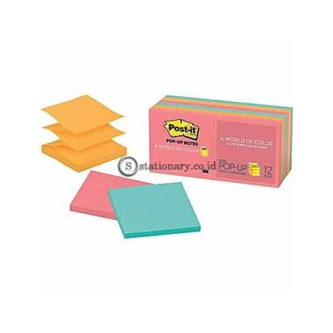 3M Post It Pop Up Notes R330-12An 3 X Inch Warna Office Stationery