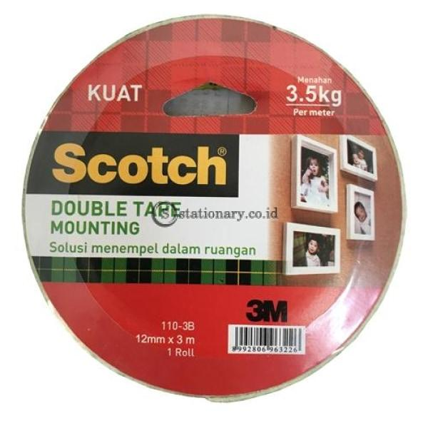 3M Scotch Double Tape Foam Mounting 12Mmx3M 110-3B Office Stationery