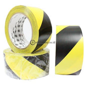 3M Vinyl Tape 3In X 36Yd Floor Marking Hazard Warning 766 (Kuning Hitam) Office Stationery Promosi
