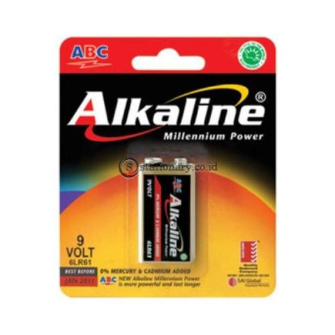 Abc Baterai Alkaline 6 Lr61 9Volt Office Stationery