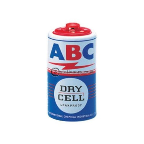 Abc Baterai Dry Cell Besar Biru R20S (2Pcs) Office Stationery
