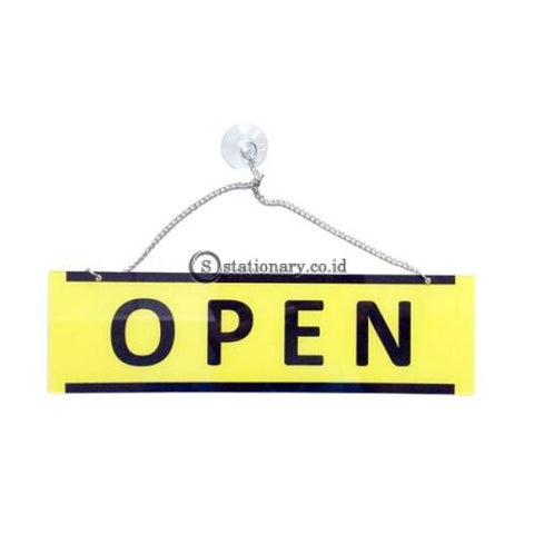 Acrylic Rectangle Sign Open Closed 28 X 8 Cm Office Stationery Digital & Display