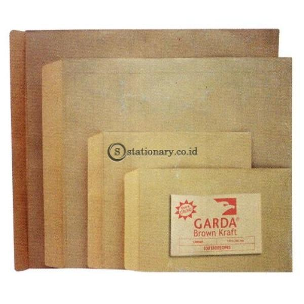 Amplop Coklat 1/2 Folio Garda Office Stationery