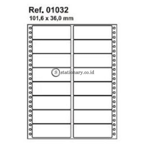 Apli Label Continuous Form 101 6 X 36Mm 2448 Unit #01032 Office Stationery