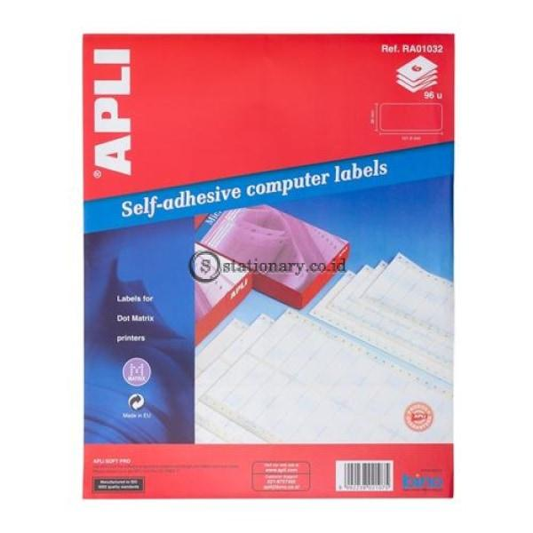 Apli Label Continuous Form 101 6 X 36Mm 96 Unit #ra01032 Office Stationery