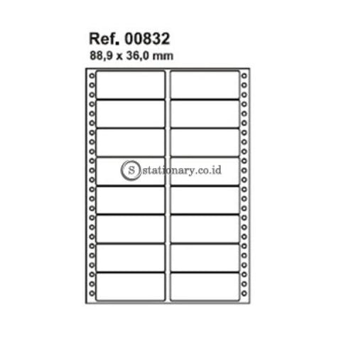 Apli Label Continuous Form 88 9 X 36Mm 2672 Unit #00832 Office Stationery