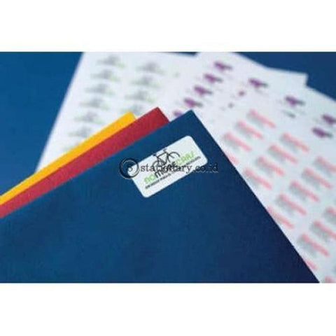 Apli Label White Paper 37 X 70Mm 120 Unit #ra01273 Office Stationery