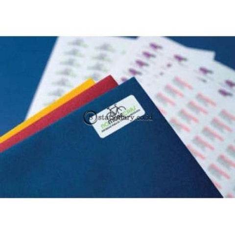 Apli Label White Paper 48 5 X 25 4Mm 220 Unit #ra01285 Office Stationery