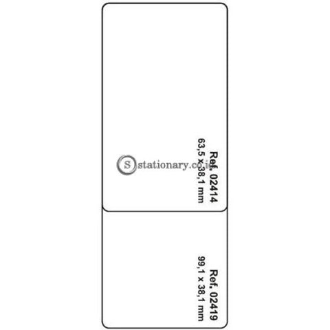 Apli Label White Paper 63.5 X 38.1Mm 105 Unit #ra02414 Office Stationery