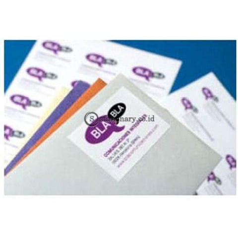 Apli Label White Paper 97 X 42 4Mm 1200 Unit #01288 Office Stationery