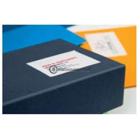 Apli Label White Paper 99.1 X 34Mm 1600 Unit #02418 Office Stationery