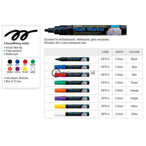 Artline Chalk Marker Epw-4 Office Stationery