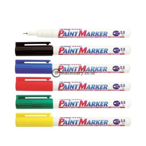 Artline Paint Marker Ek-444Xf 0.8Mm Putih Office Stationery