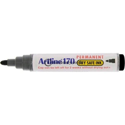 Artline Permanent Marker Ek-170 Hitam Office Stationery