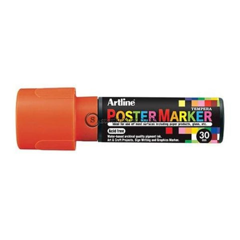 Artline Poster Marker 30Mm Epp-30 Biru Office Stationery
