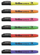 Artline Supreme Highlighter 12 Colours Epf-600 Office Stationery