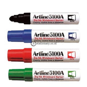 Artline Whiteboard Marker Ek-5100A Merah Office Stationery