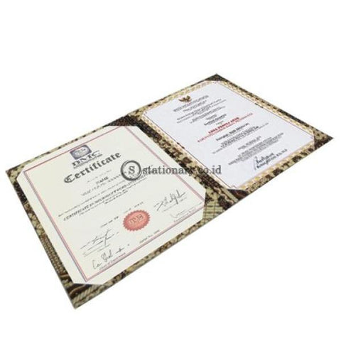 Bambi Certificate Holder A4 Batik #7100K Office Stationery