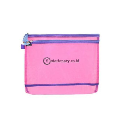 Bambi Zipper Bag Sungkai #7133 Office Stationery