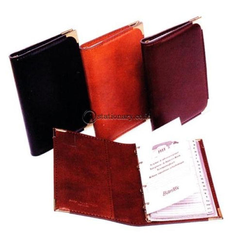 Bantex 747 Telephone And Address Book 15X23Cm 7440 Brown - 03 Office Stationery