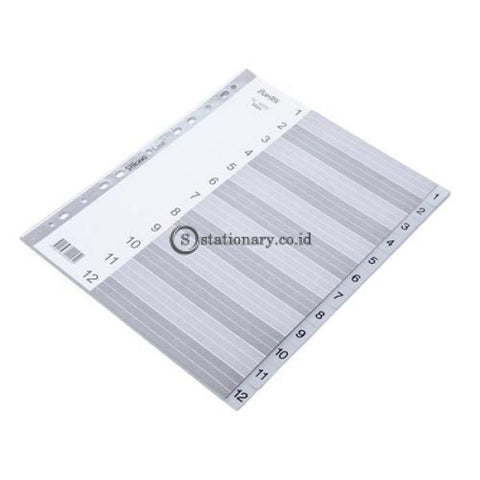 Bantex A4 Maxi 1-12 Index Pp #6222 05 Office Stationery