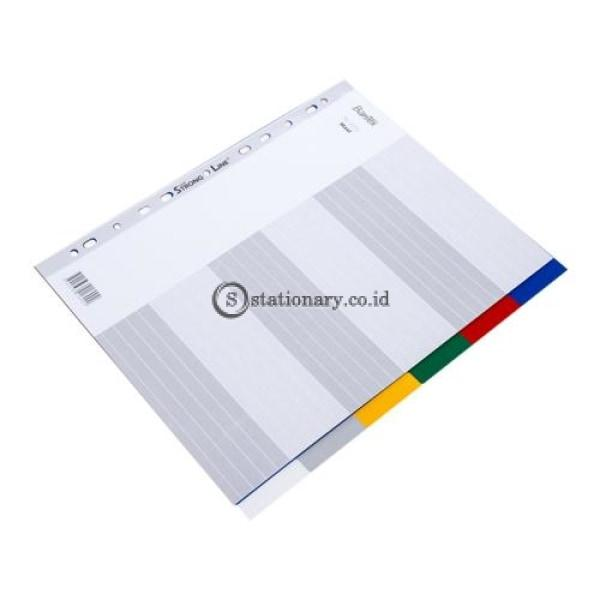 Bantex A4 Maxi 6 Pages Divider Pp #6016 00 Office Stationery