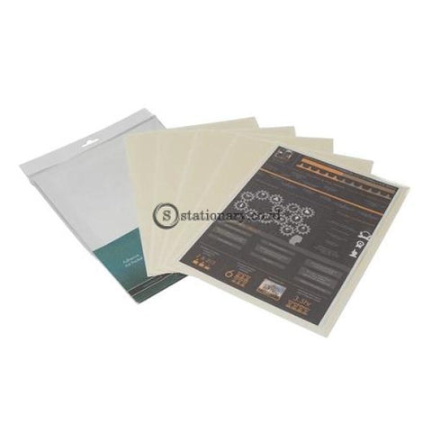 Bantex Adhesive A4 Pocket (5 Pcs/pack) #8877 Office Stationery