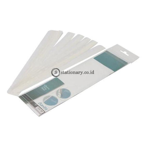 Bantex Adhesive Filing Strips (10 Pcs/pack) #8875 Office Stationery