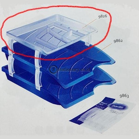 Bantex Aksesoris Document Tray Optima 9826