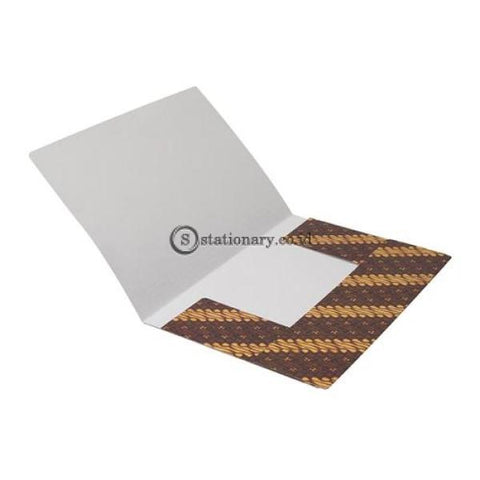 Bantex Carboard Document File Batik F4 Foolscap 3455 Office Stationery