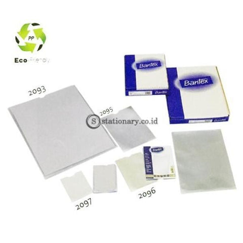 Bantex Pocket Card Holder (10 Sheets) 0,12mm A7 #2097