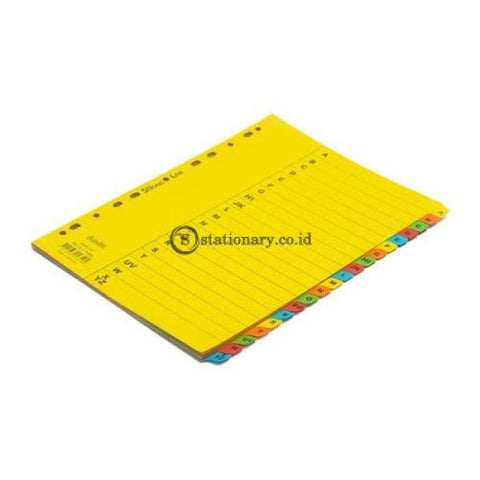 Bantex Cardboard Divider A4 A-Z (20 Pages) 6043 Office Stationery