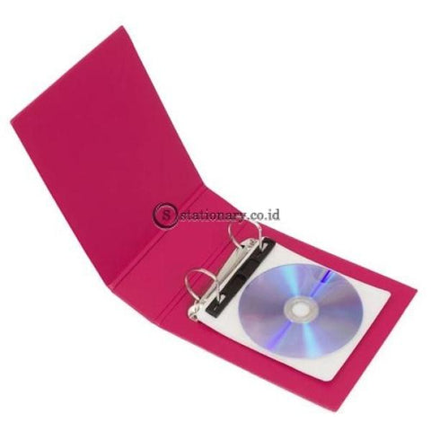 Bantex Cd Binder 2 Ring 40Mm (Include 5 Sheets Pockets) #8540 65 Office Stationery It Supplies