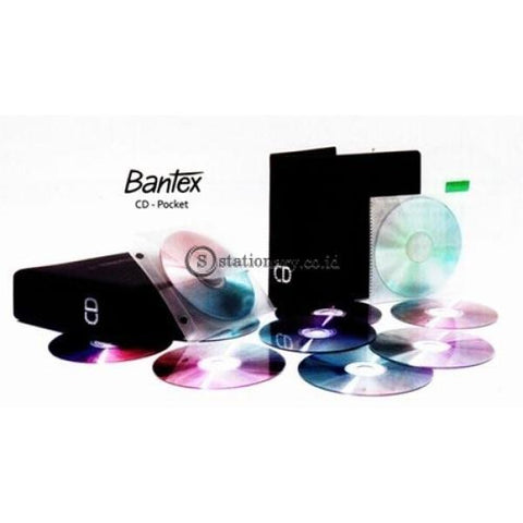 Bantex Cd Pocket 2073 Office Stationery It Supplies