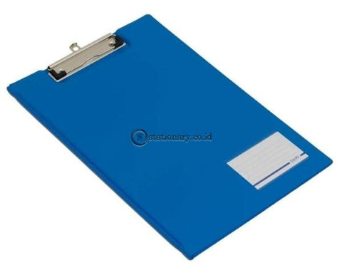 Bantex Clipboard With Cover Folio #4211 Blue - 01 Office Stationery