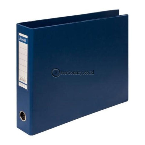 Bantex Computer Data Ring Binder 14 7/8X11 Inch 4B 52Mm #1596 Biru - 11 Office Stationery