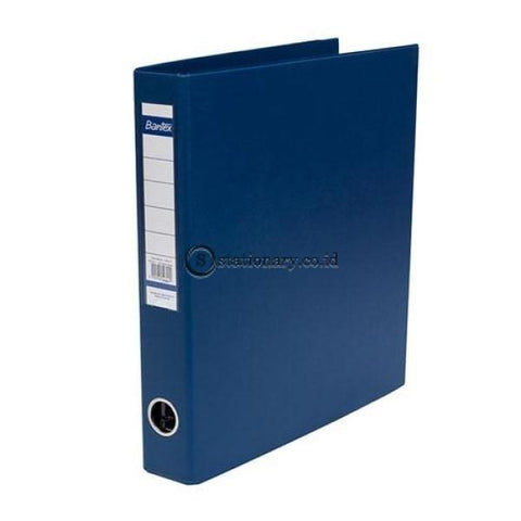 Bantex Computer Data Ring Binder 9 1/2 X11 4B 35Mm Blue #1593 01 Office Stationery