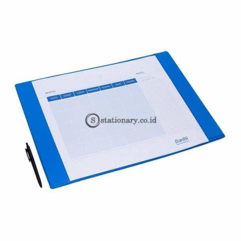 Bantex Deskpad Calender Small Blueberry #4163 62
