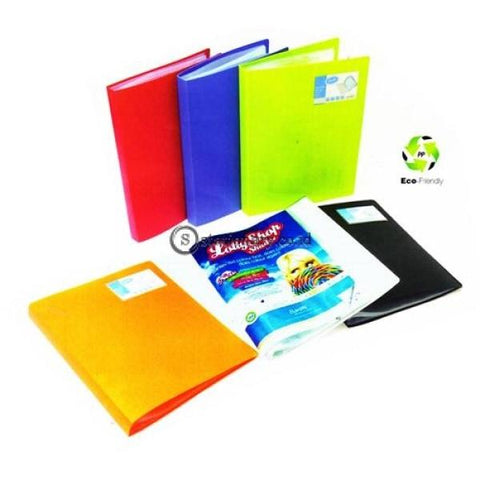 Bantex Display Book 10 Pockets A4 #3140 Lime - 65 Office Stationery
