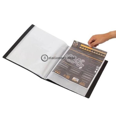 Bantex Display Book 40 Pockets A4 #3145 Lime - 65 Office Stationery