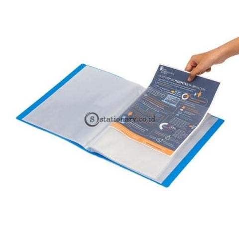 Bantex Display Book 60 Pockets A4 #3147 Lime - 65 Office Stationery